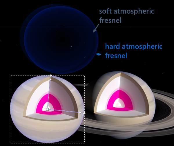 Hard atmospheric fresnel layer