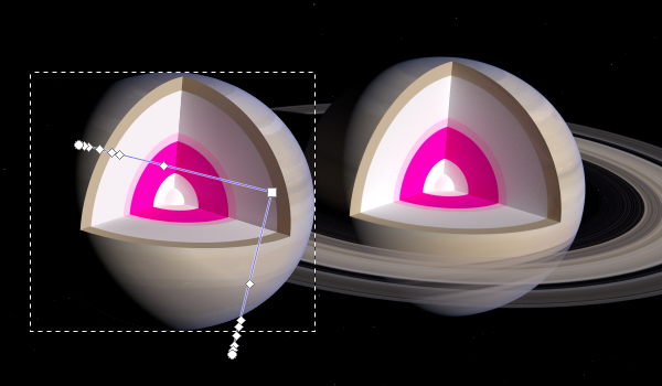 Shading Saturn