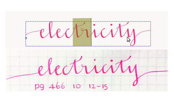 How To Design And Construct A Functional Cursive Font