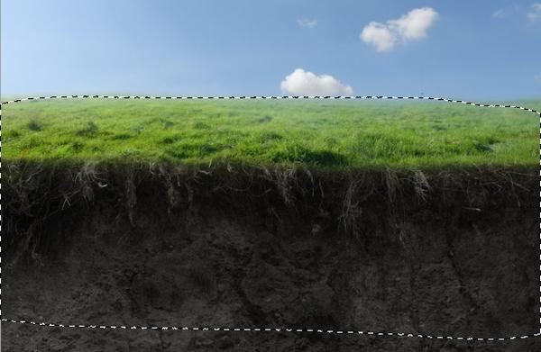 grass gaussian blur masking