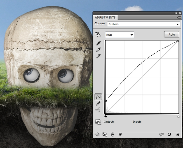 skull curves brighten