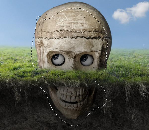 skull curves brighten masking
