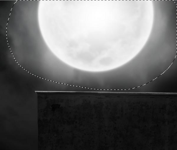 moon glowing light normal mode