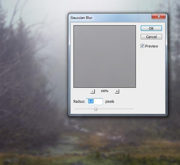 landscape 2 gaussian blur