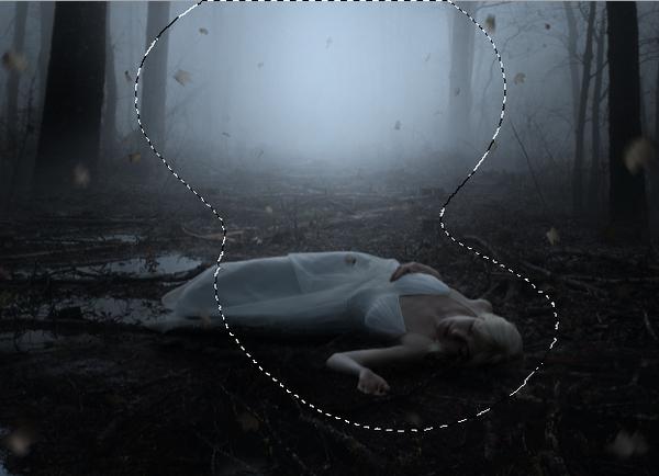 scene curves darken masking