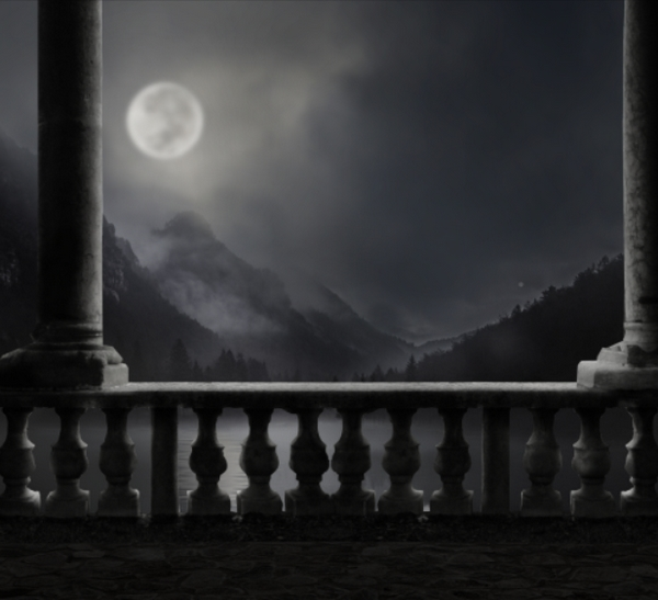 How To Create A Moonlight Scene Photo Manipulation With