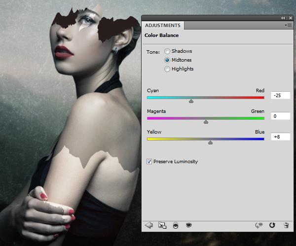 model color balance