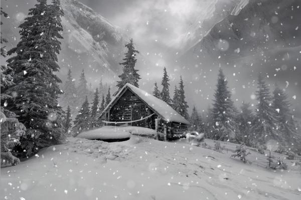 snow masking