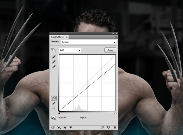 How to create a wolverine photo manipulation with adobe photoshop claws curves 2 maxwellsz