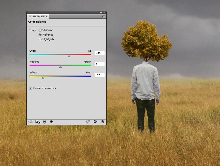 tree color balance