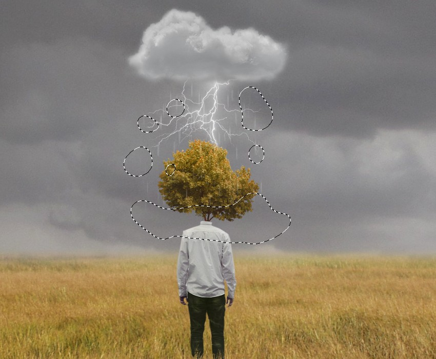 how to make a surreal photo in photoshop