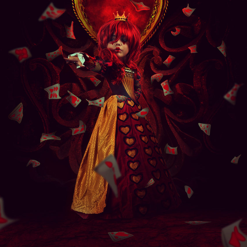 How to Create a Queen of Hearts Photo Manipulation With Adobe Photoshop