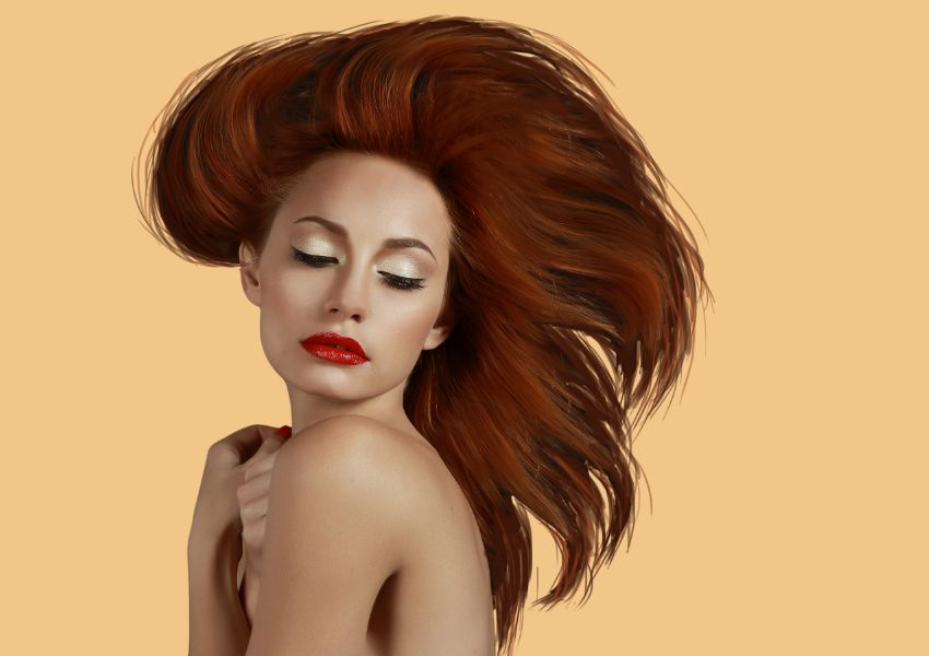 model painting hair 2