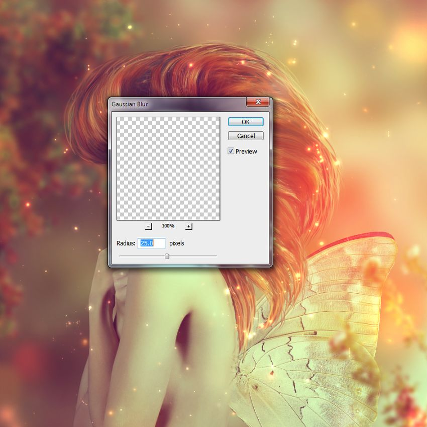 bigger dots gaussian blur