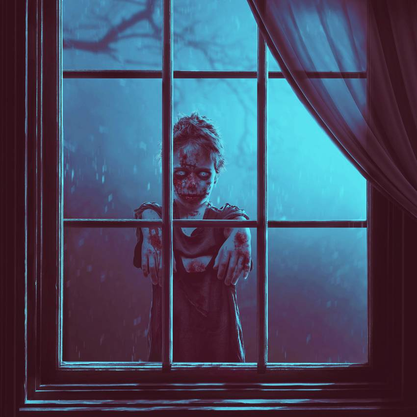 Tạo một Scary Window Cảnh Photo Manipulation Với Photoshop
