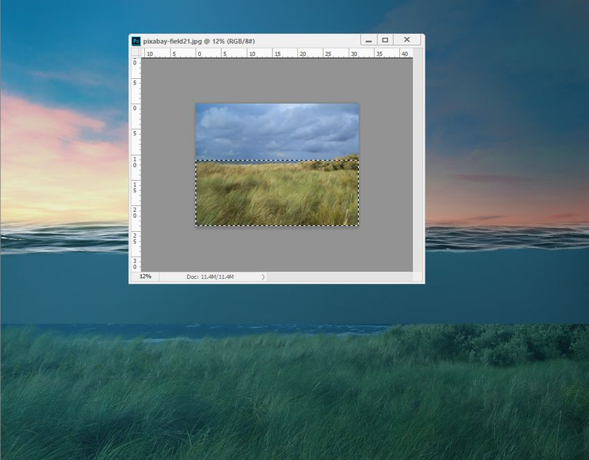 add grass