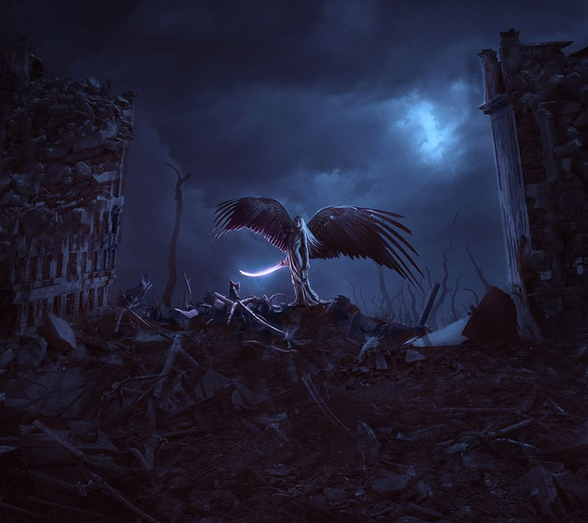 create-an-apocalypse-angel-scene-photoshop