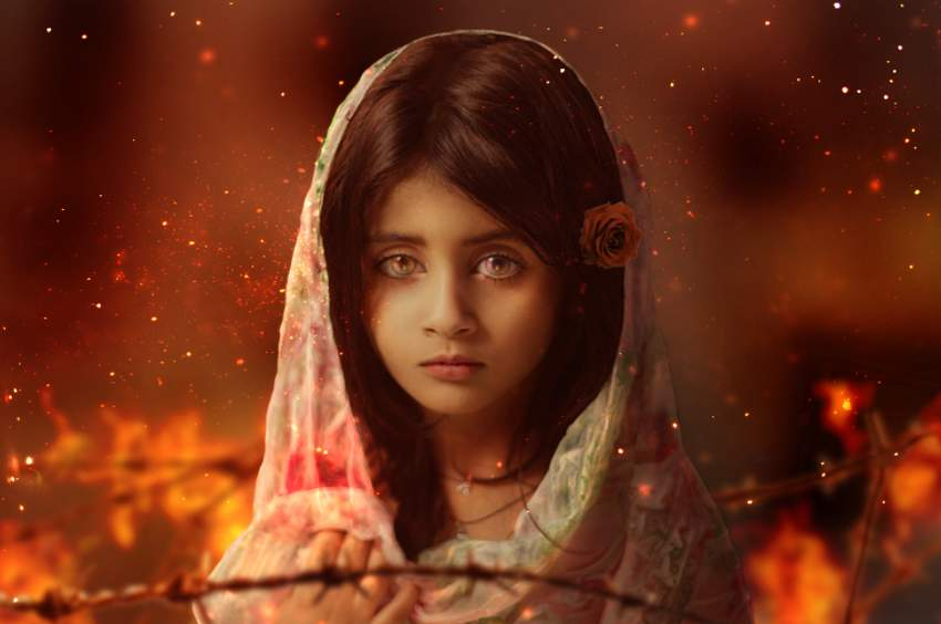 How to Create an Emotional Fire Scene Photo Manipulation in Adobe Photoshop