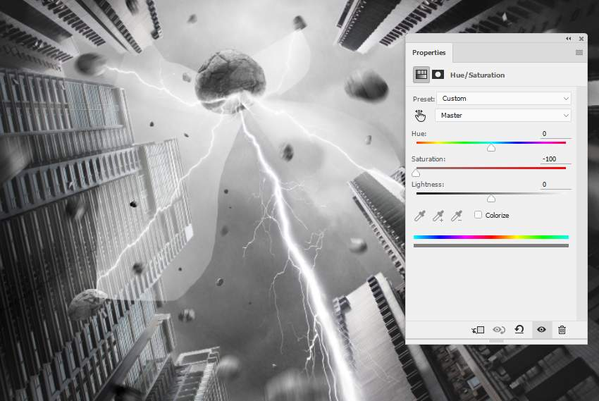 How to Create a Power Scene Photo Manipulation With Adobe Photoshop