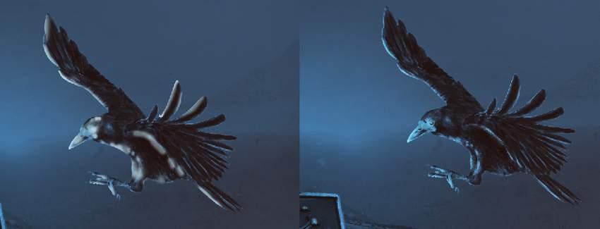 crow light
