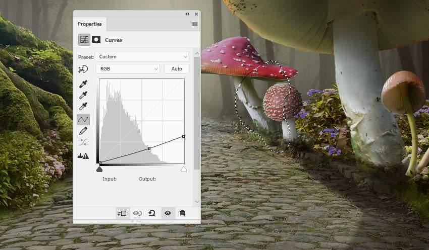 mushroom 4 curves