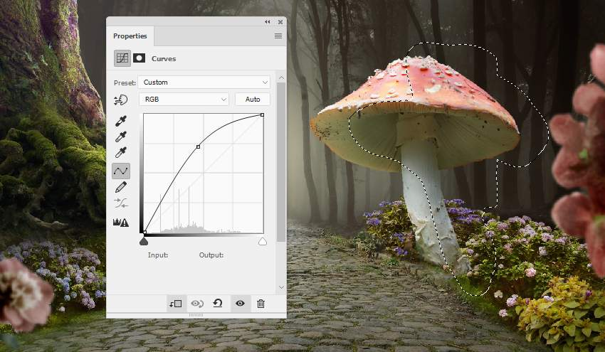 mushroom 1 curves 1