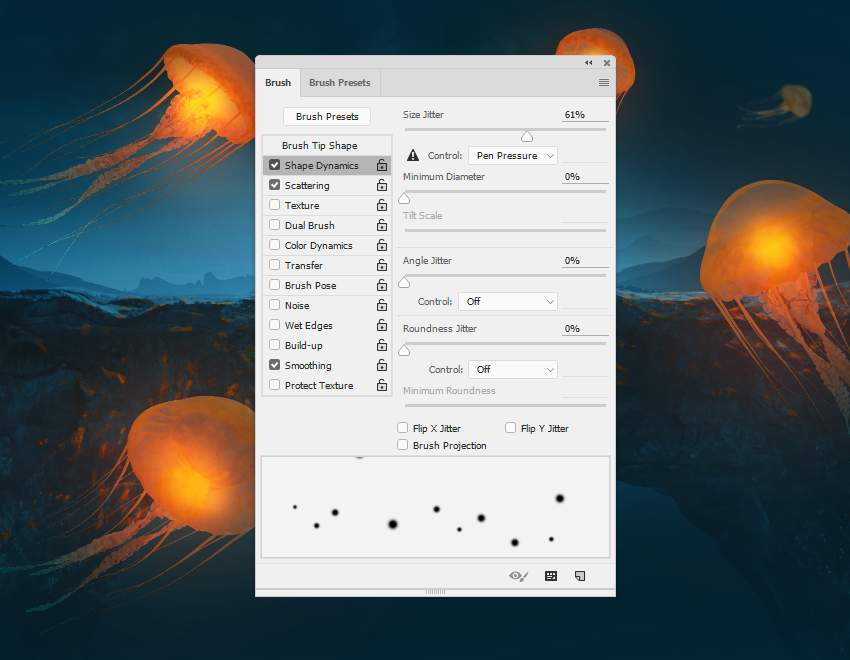 dot brush settings 2