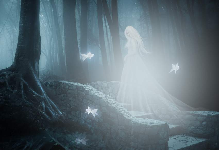How To Create A Haunting Fantasy Digital Art Photo Manipulation In Adobe Photoshop