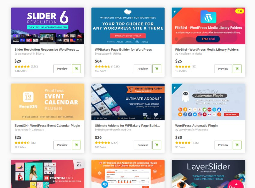 Premium WordPress Themes and Plugins