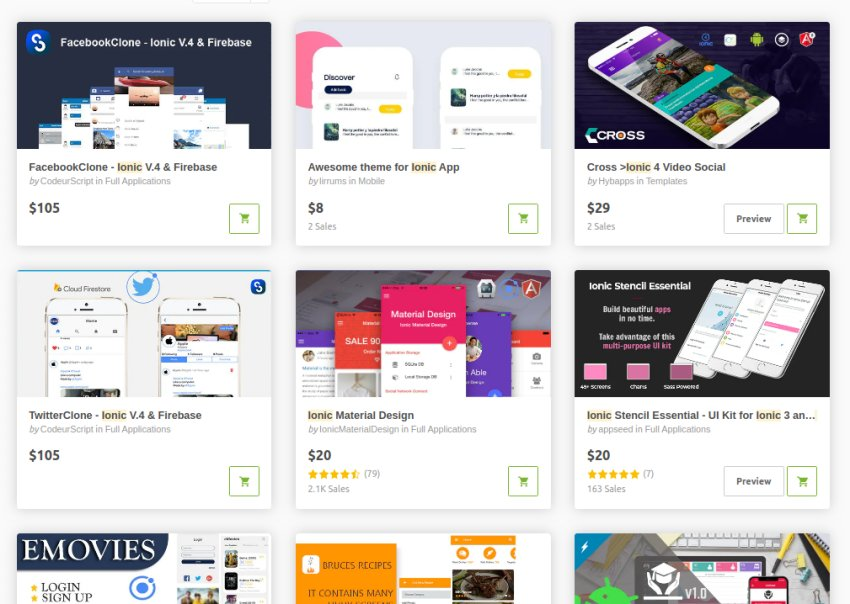 The Best Ionic App Templates