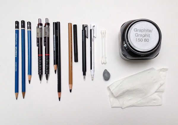 Some of the tools you need for rendering