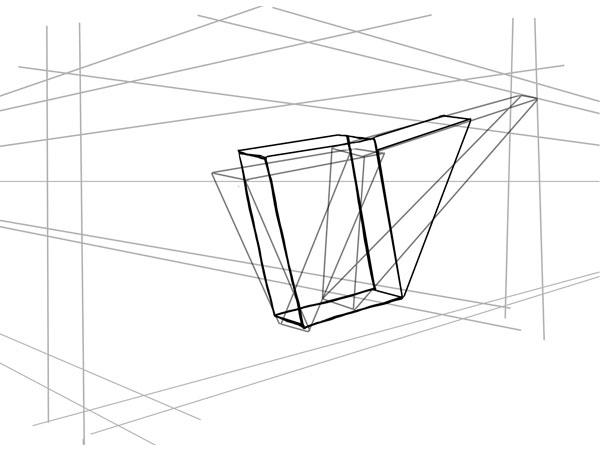 Дополнительные кубы и треугольники составляют хвост
