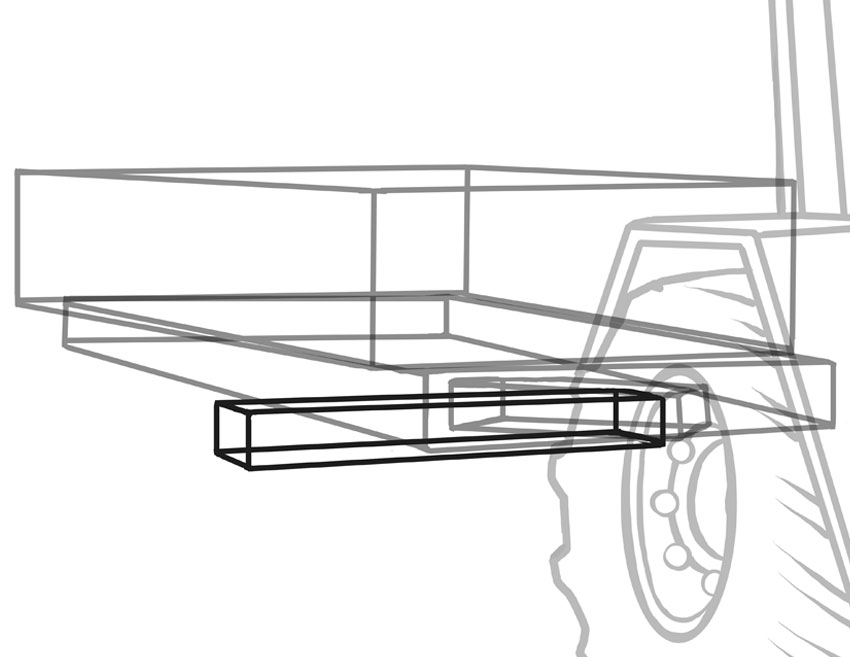 The axles on trailers have to be very strong