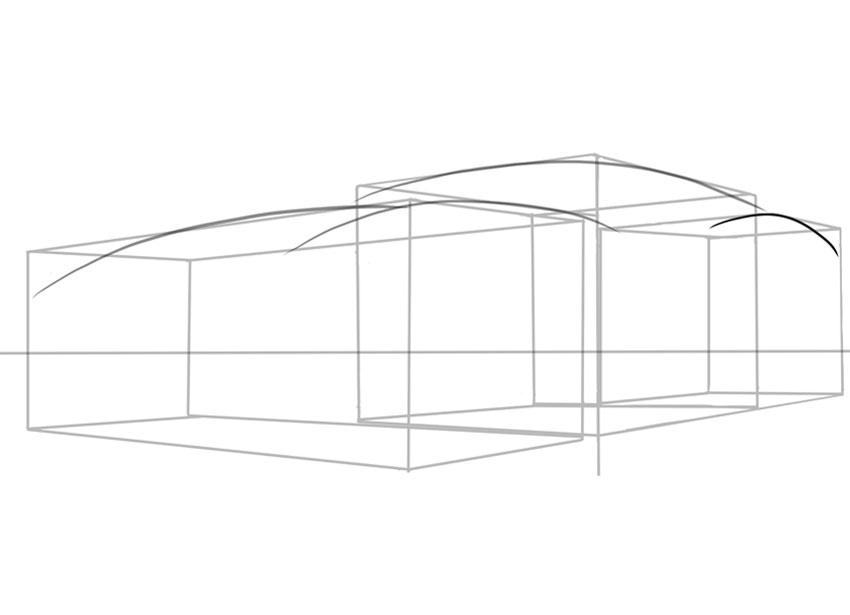 Пышная скользкая форма необходима при проектировании или рисовании спортивного автомобиля