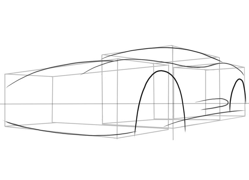 Обратите внимание, насколько велики колесные арки на этом автомобиле