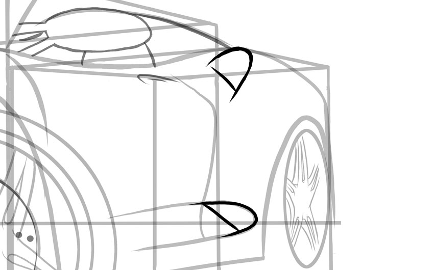 Обратите внимание, что эти вентиляционные отверстия расположены либо прямо, либо прямо в направлении заднего колеса