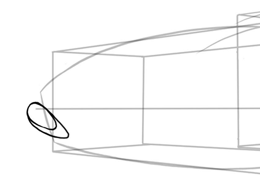 Простые формы помогут создать передние вентиляционные отверстия