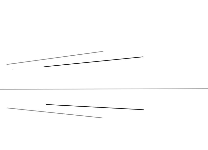 Еще две линии составят тыл нашей первой коробки