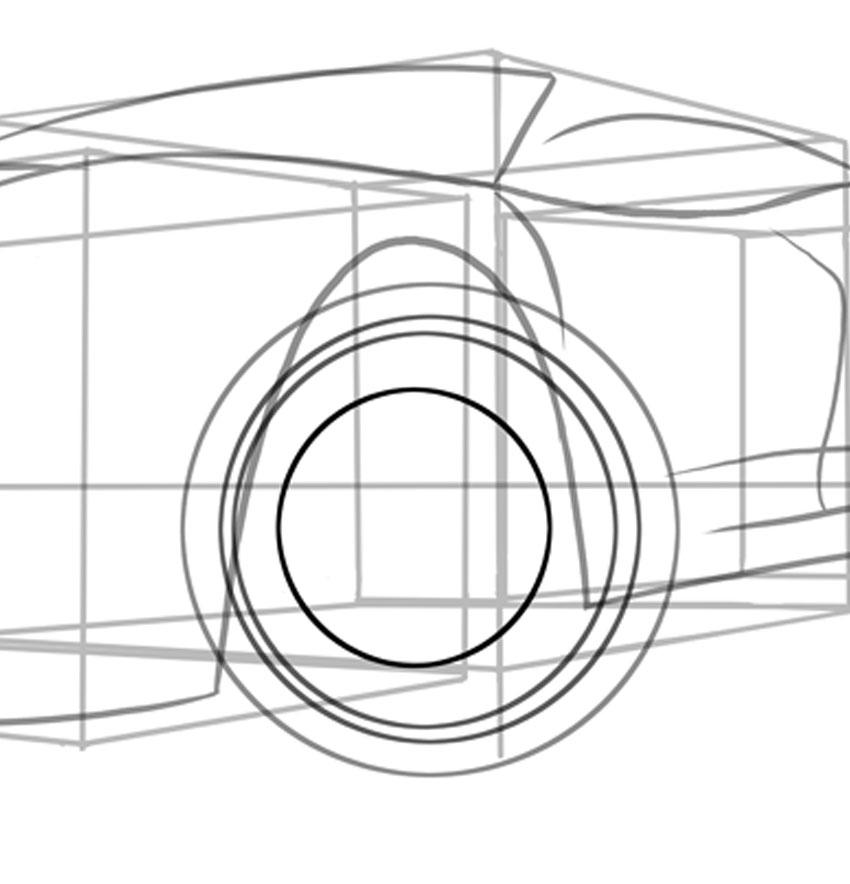 Использование компаса снова поможет, когда тормозной диск заметит, что он просто находится вне центра