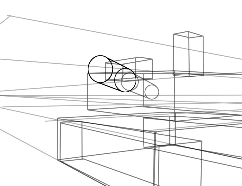 It can be tricky drawing in perspective so be sure to practice first