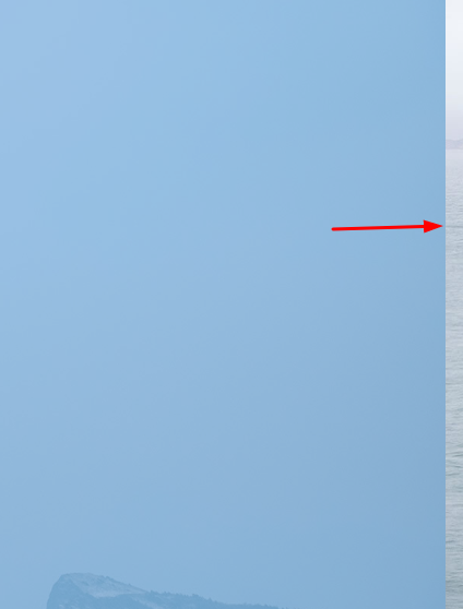 How to remove the right gap when there isnt vertical scrollbar