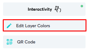 Selecting the Edit Layer Colors option from the panel