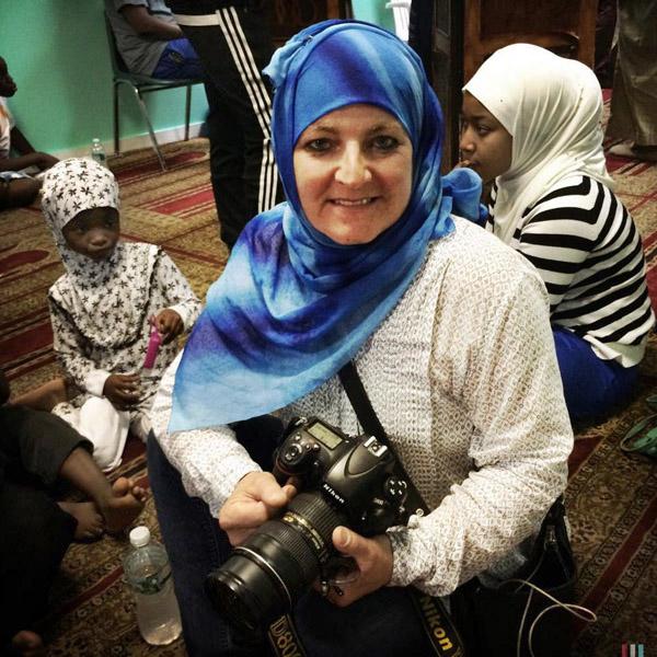 Photographer Stephanie Keith at Yankassa June 2015 Photograph by Zali Muhammed