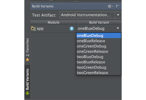 Build Variants in Android Studio