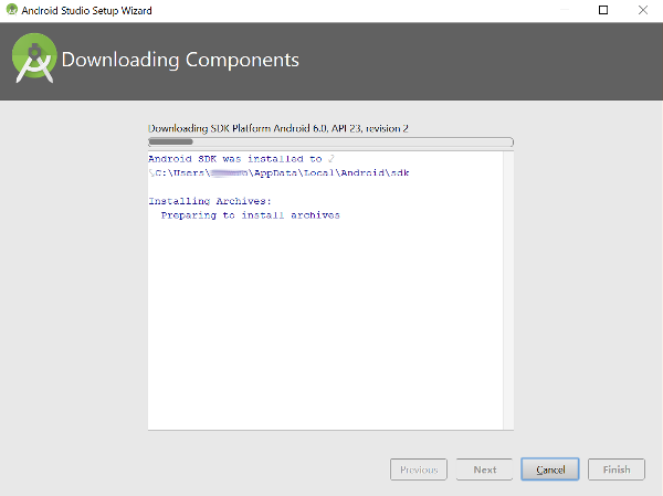 Android SDK Installation On Windows