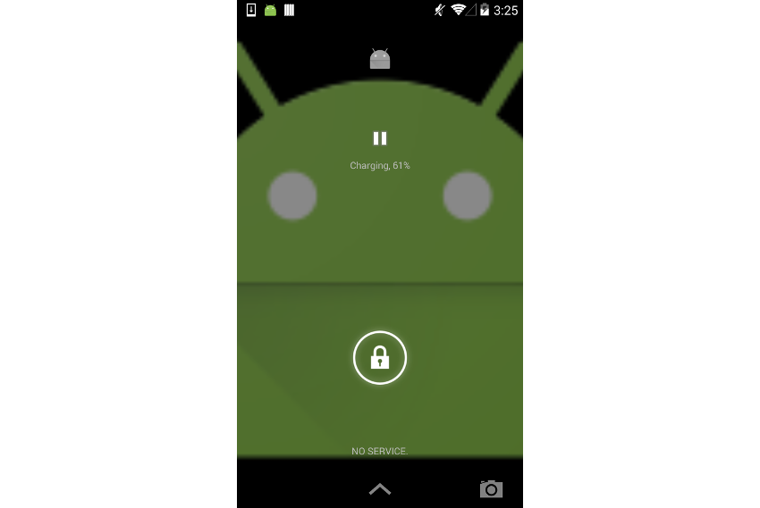 Media lock screen controls on Android Kit Kat