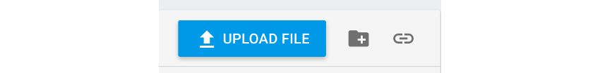 Button for manually uploading files to Firebase storage