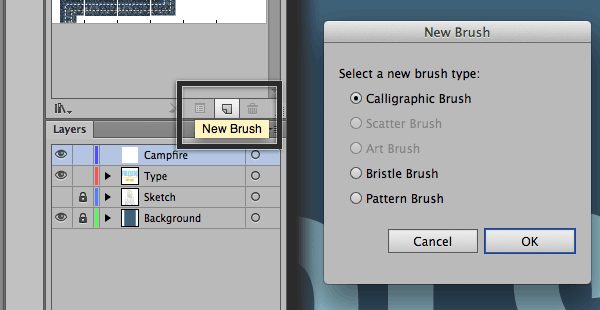 Calligraphic Brush Settings