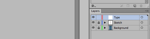 Adobe Illustrator Layers Panel
