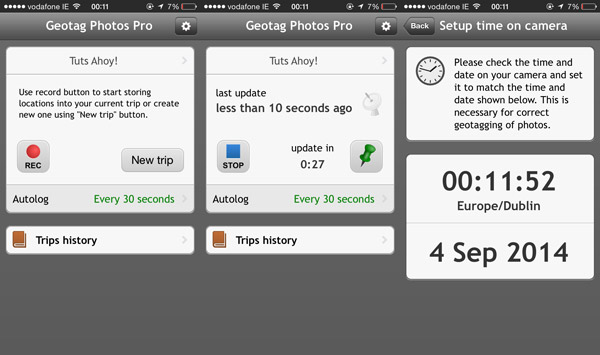 geotag mobile app